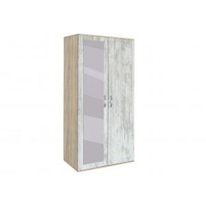 Двукрилен гардероб с огледало АВА201