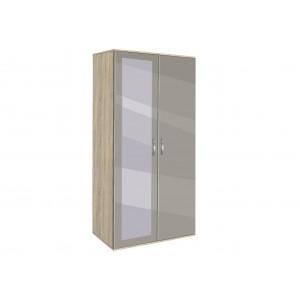 Двукрилен гардероб с огледало АВА21