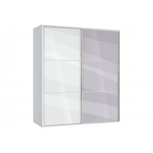 Двукрилен гардероб с огледало АВА41