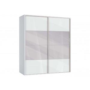 Двукрилен гардероб с огледало АВА51