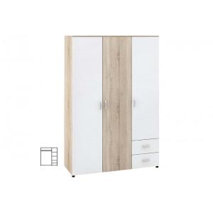 Трикрилен гардероб  Дамяна М020