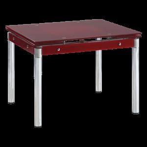 Разтегателна трапезна маса Carmen 1505 Р - червен
