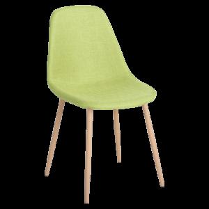 Трапезен стол Carmen 511 S - зелен