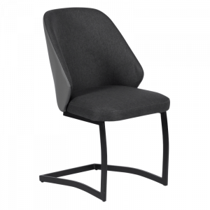 Трапезен стол ARIZONA - тъмно сив UF 1