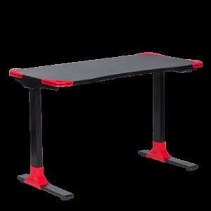 Ергономично геймърско бюро Carmen CR-121 G - черно-червено